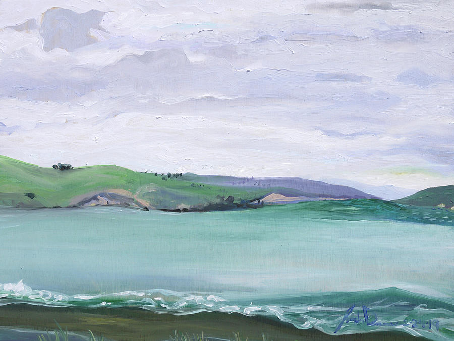 Bodega Painting - Bodega Bay CA by Joseph Demaree