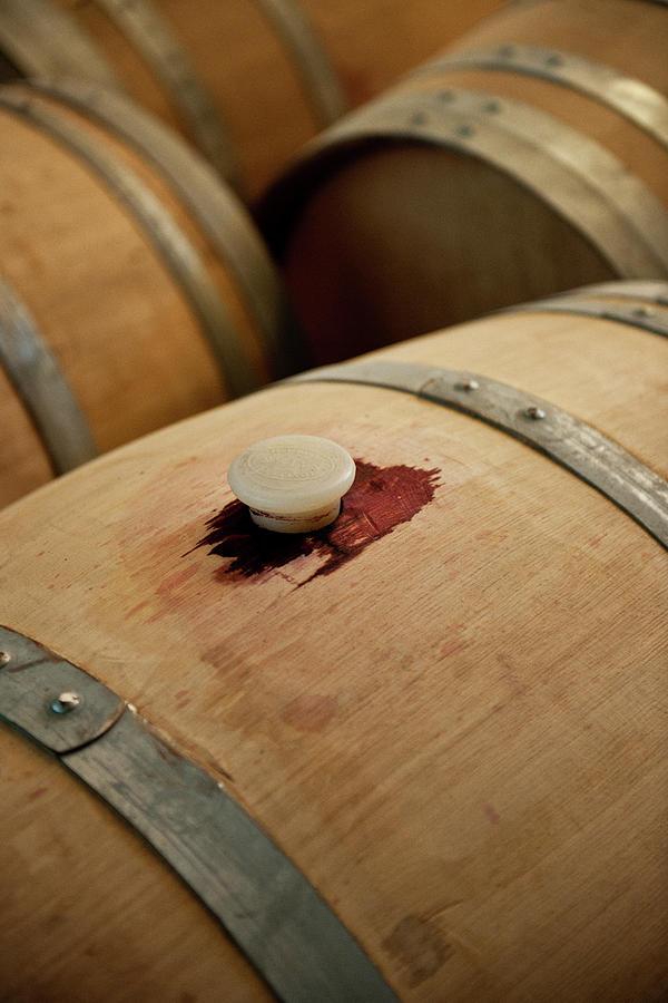 Bodegas Ysios Wine Cellar, Detail Photograph by Maremagnum