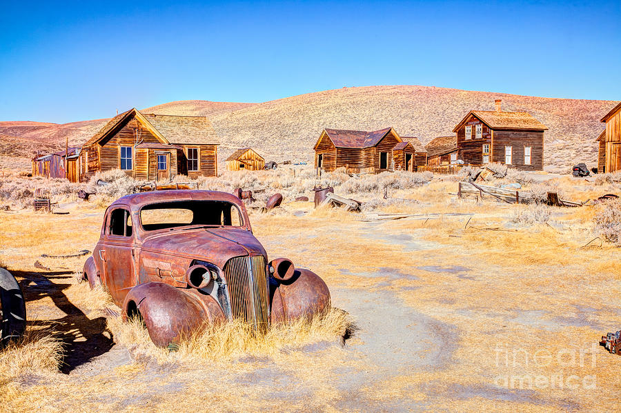 Usa Photograph - Bodie Is A Ghost Town In The Bodie by Mariusz S. Jurgielewicz