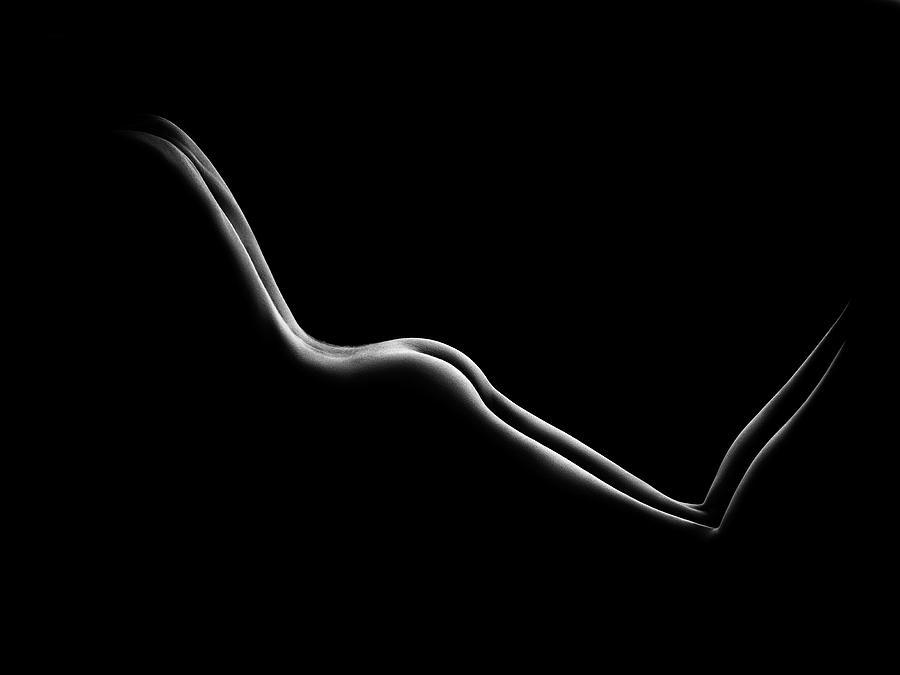 Bodyscape nude woman buttocks by Johan Swanepoel