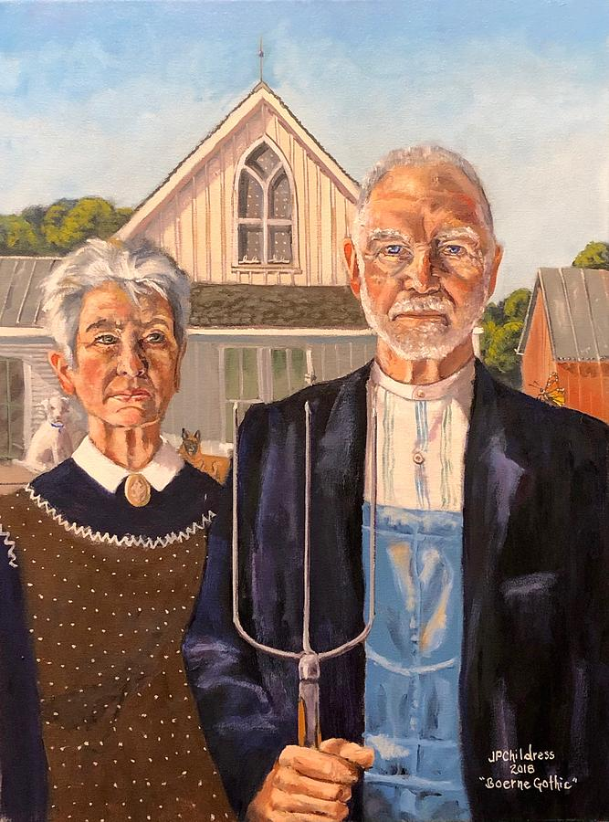 Boerne Gothic II by J P Childress
