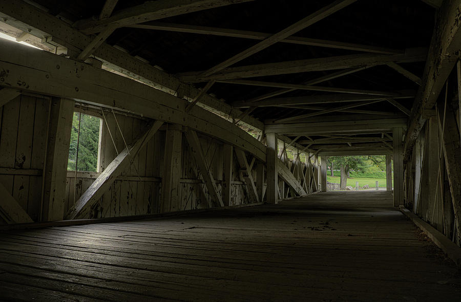 Bogert's Bridge - Inside by Jason Fink
