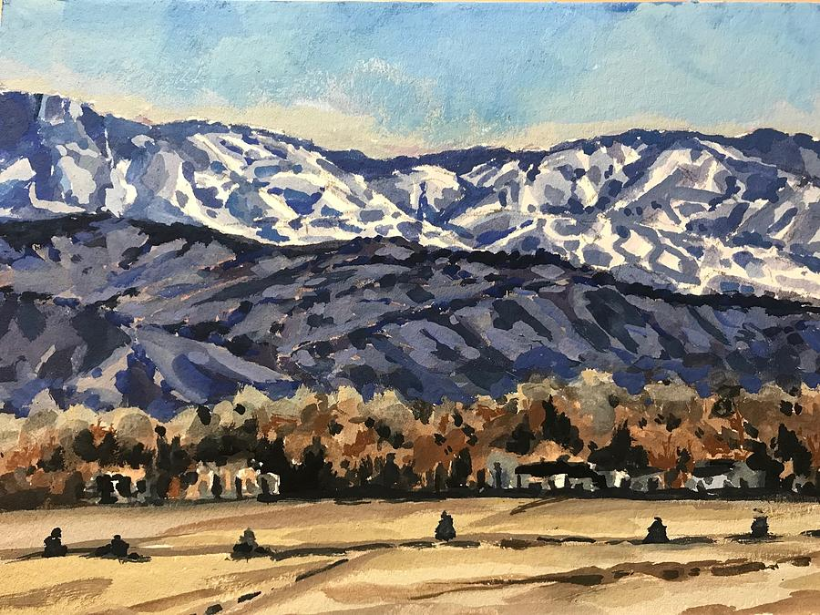 Boise Foothills by Les Herman
