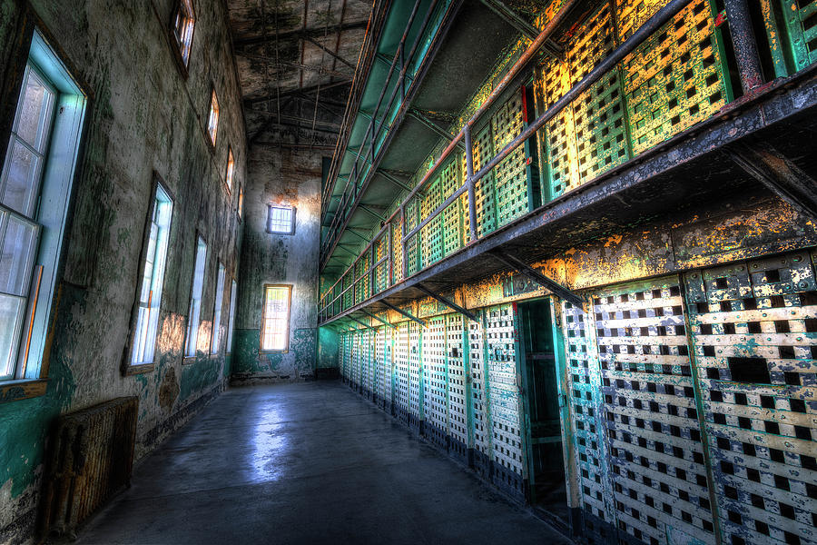 Boise Old Penitentiary  by Michael Ash