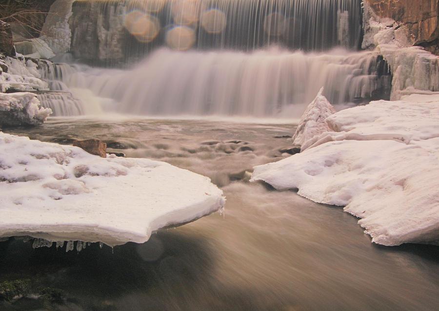 Bokeh Falls Progreston Falls Photograph by Brook Tyler Photography
