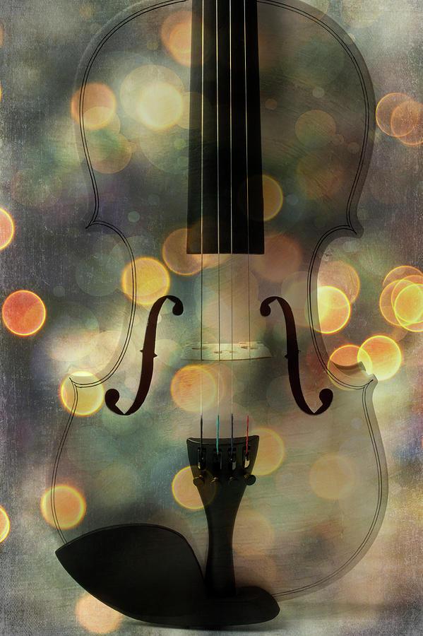 Bokeh Violin by Garry Gay