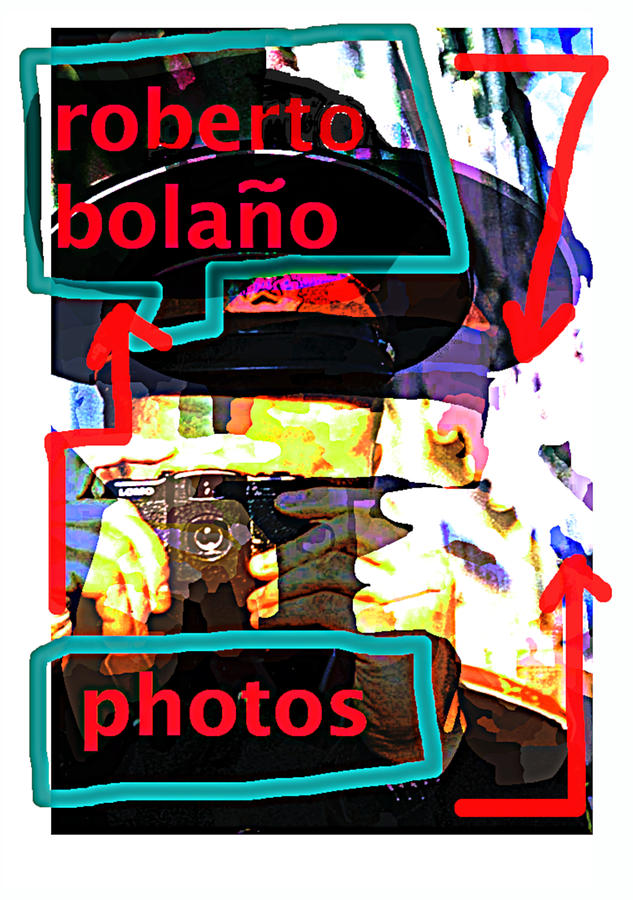 Bolano Photos poster by Paul Sutcliffe