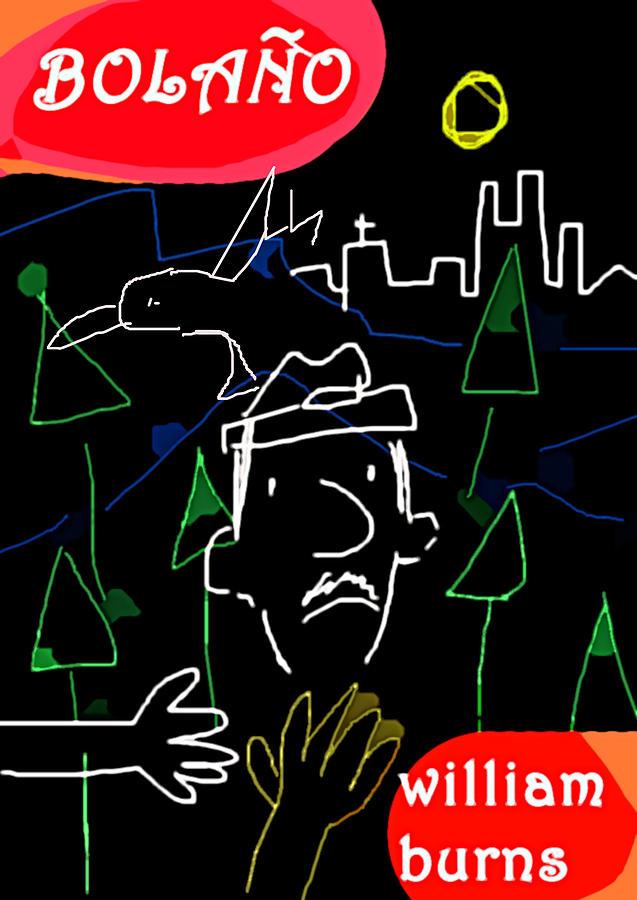 Bolano Short Story Wb Poster Drawing