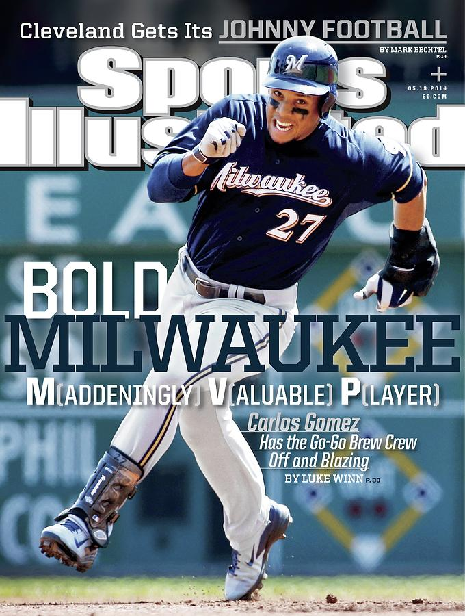 Bold Milwaukee Maddeningly Valuable Player Sports Illustrated Cover Photograph by Sports Illustrated