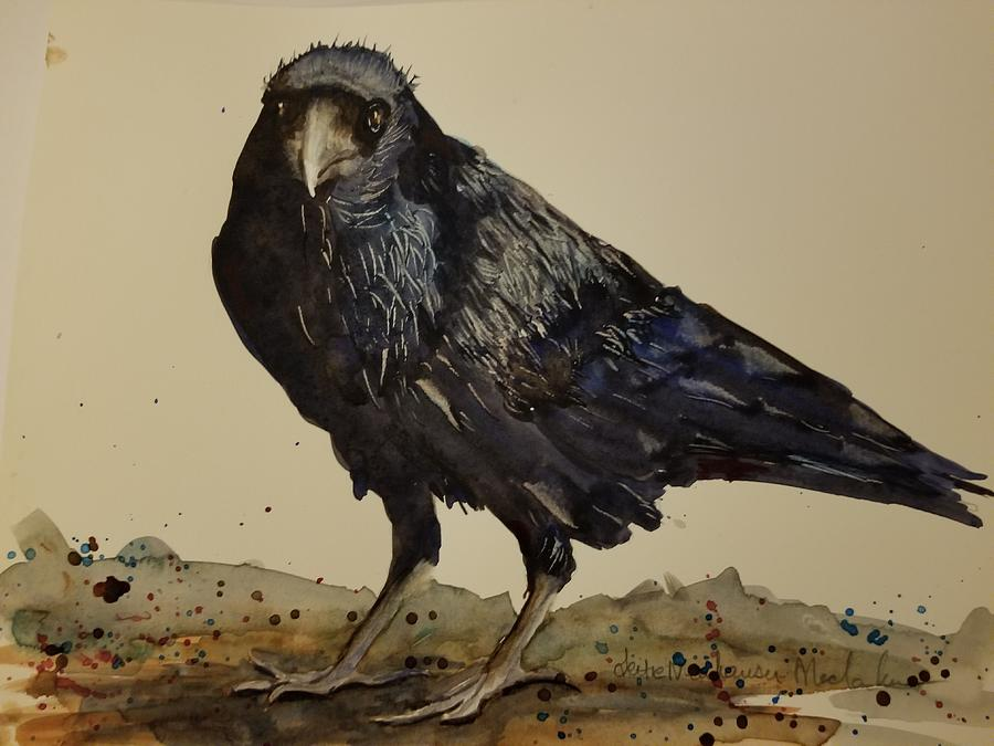 Bold Raven by Lettie Neuhauser-MacLachlan