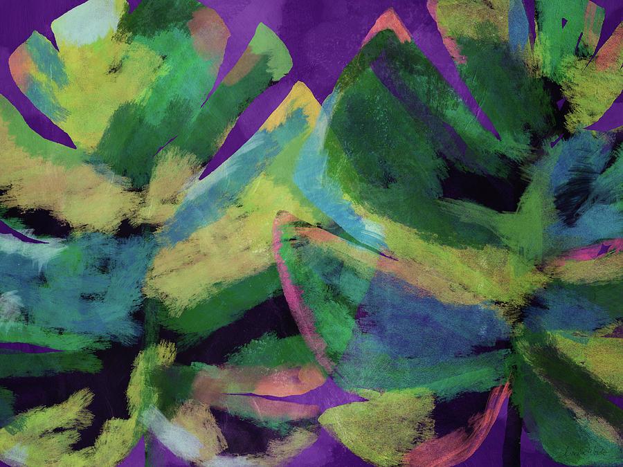 Leaf Mixed Media - Bold Tropical Dreams- Art By Linda Woods by Linda Woods