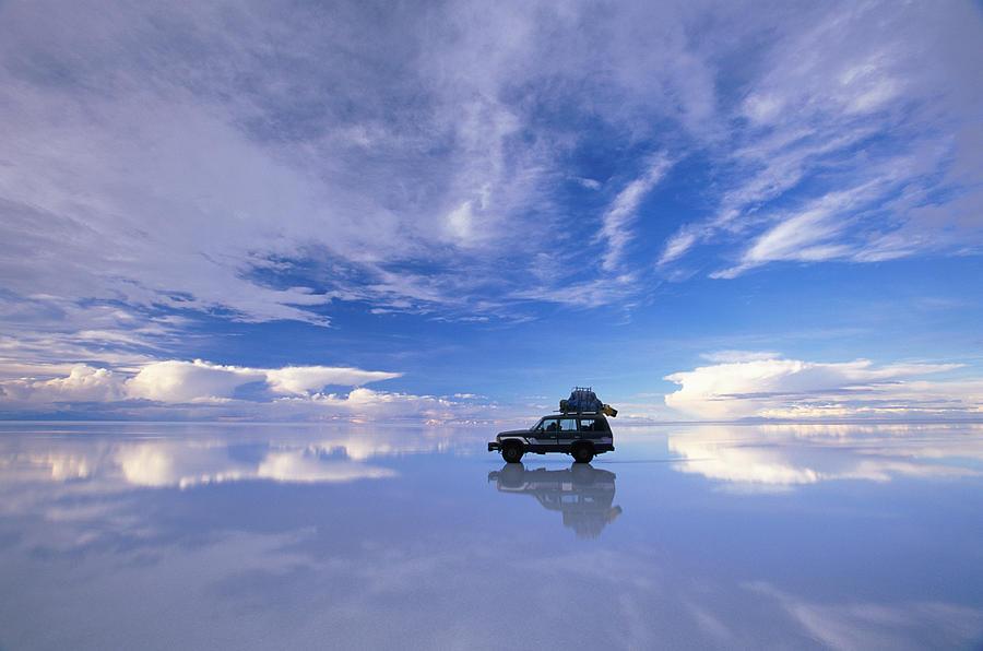 Bolivia, Salar De Uyuni, Expedition Photograph by Art Wolfe