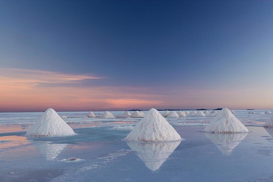 Bolivia, Salar De Uyuni Salt Flats Photograph by Mint Images - Art Wolfe