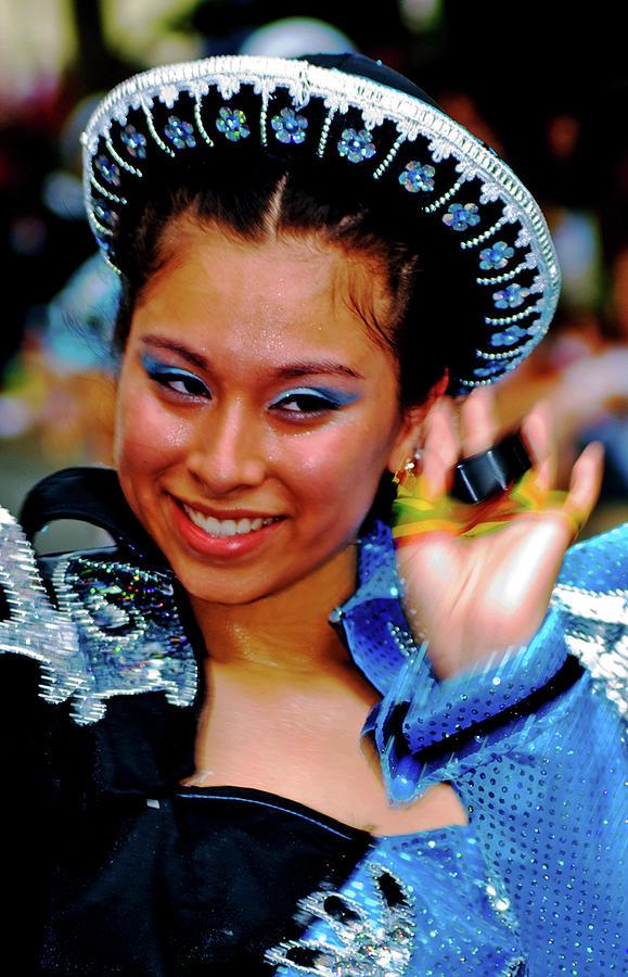 Bolivian dancer by Bill Jonscher