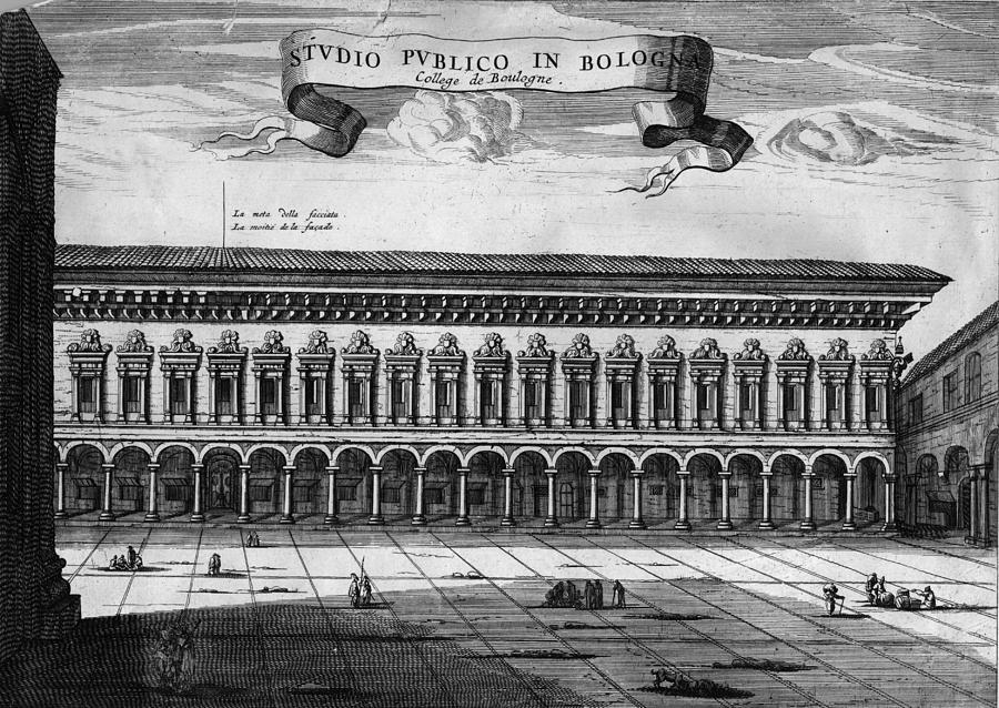 Bologna University Digital Art by Hulton Archive
