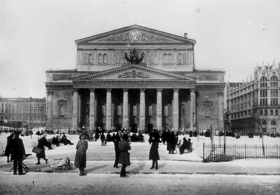 Bolshoi Theatre Photograph by Hulton Archive