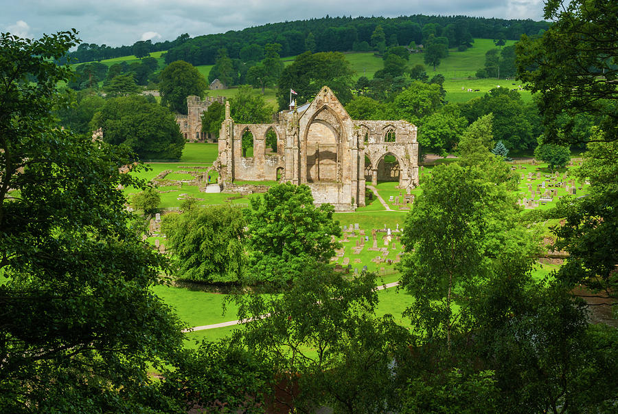 Bolton Abbey Photograph - Bolton Abbey, Yorkshire Dales by David Ross