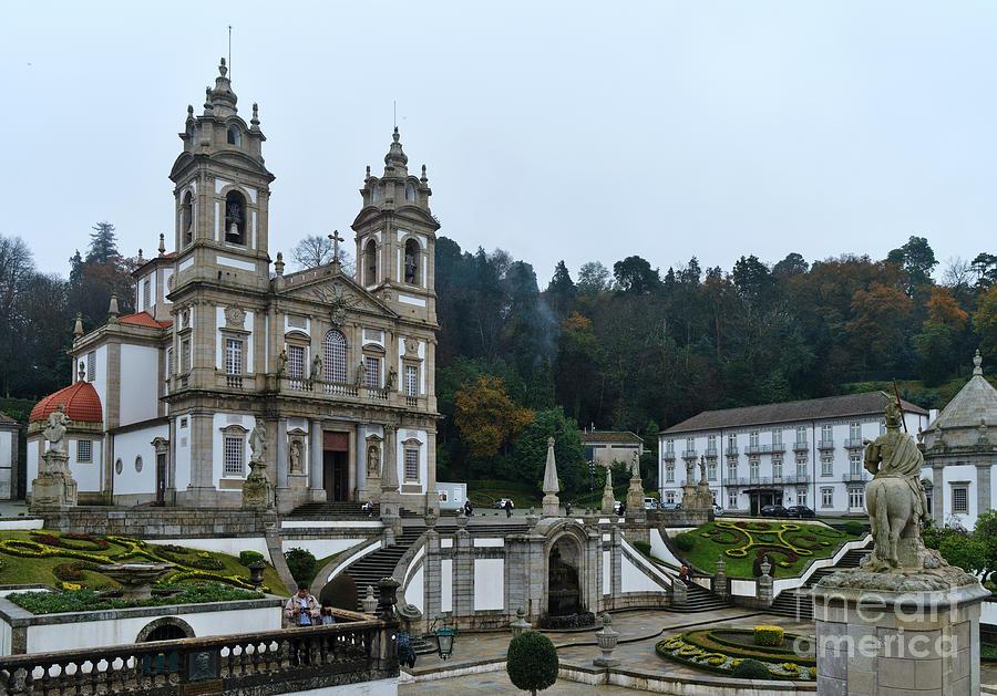 Bom Jesus do Monte in Braga by Angelo DeVal