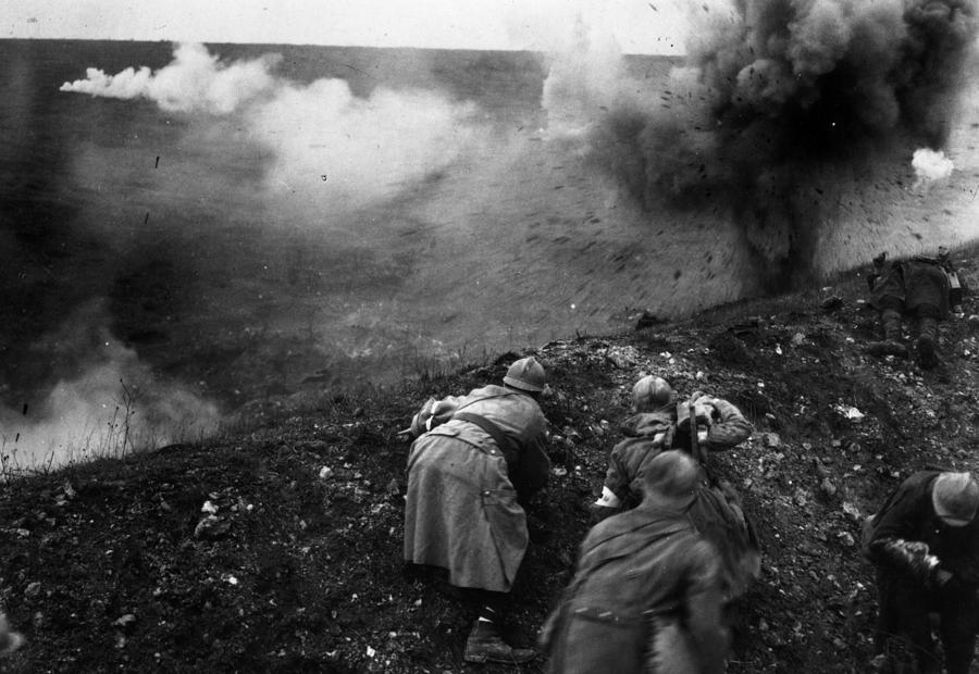 Bombardment Photograph by General Photographic Agency