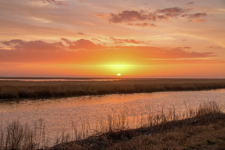 Bombay Hook Sunrise by Kristia Adams