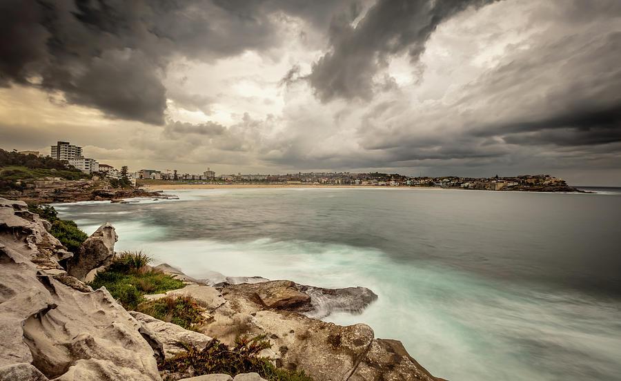 Bondi Photograph - Bondi Beach by Chris Cousins
