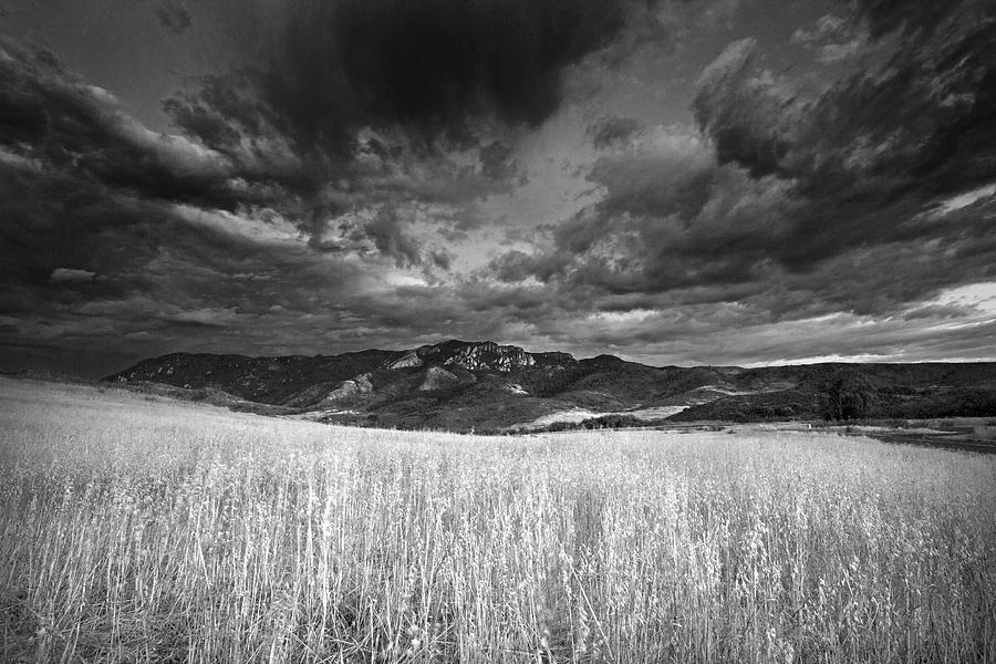 Boney Mountain Black and White by John Rodrigues