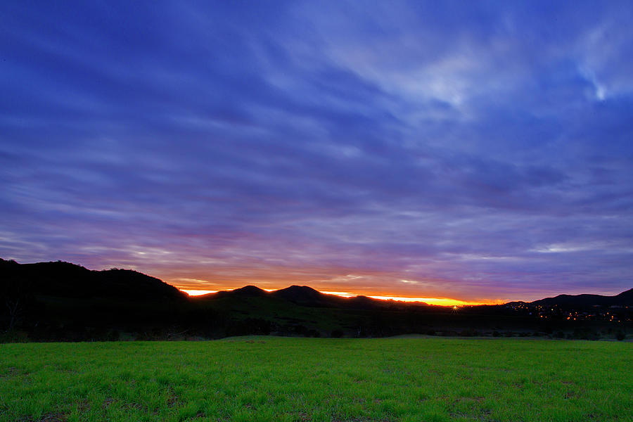 Boney Mountain Photograph - Boney Mountain Sunset by John Rodrigues