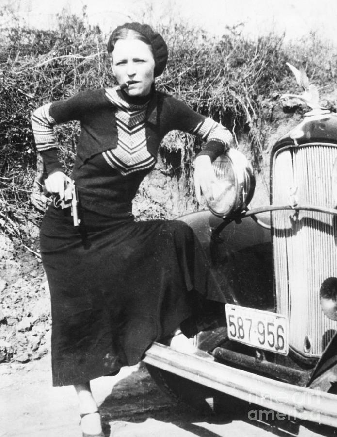 Bonnie Parker Photograph by Bettmann