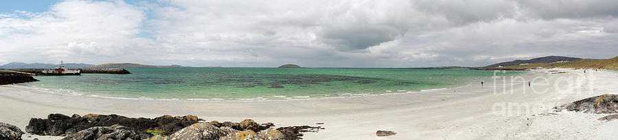 Eriskay - Bonnie Prince Charlie Beach - Cockleshell Strand in Panorama by Maria Gaellman