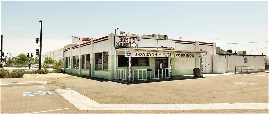 Bono's, Route 66, Fontana by Andy Romanoff