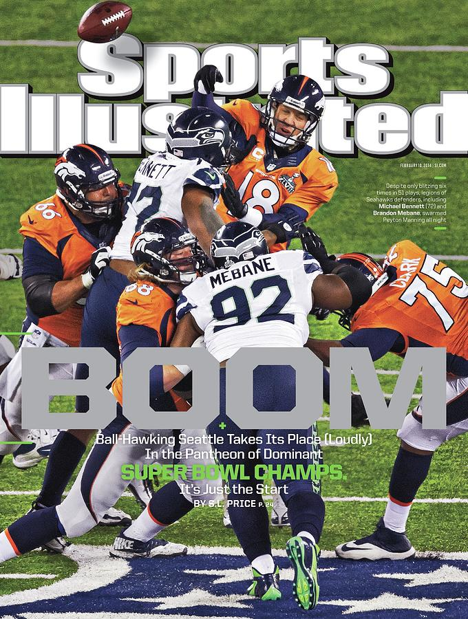 Boom Ball-hawking Seattle Takes Its Place Loudly In The Sports Illustrated Cover Photograph by Sports Illustrated