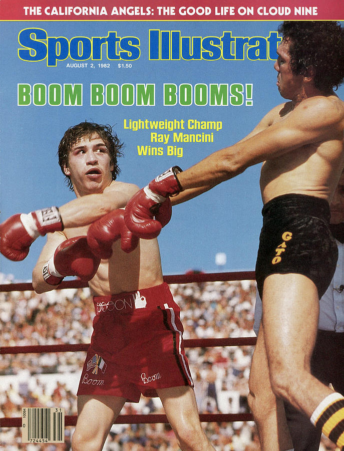 Boom Boom Booms Lightweight Champ Ray Mancini Wins Big Sports Illustrated Cover Photograph by Sports Illustrated