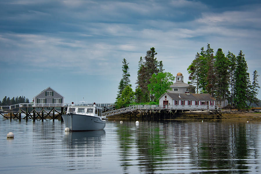 Boothbay Calm by Guy Whiteley