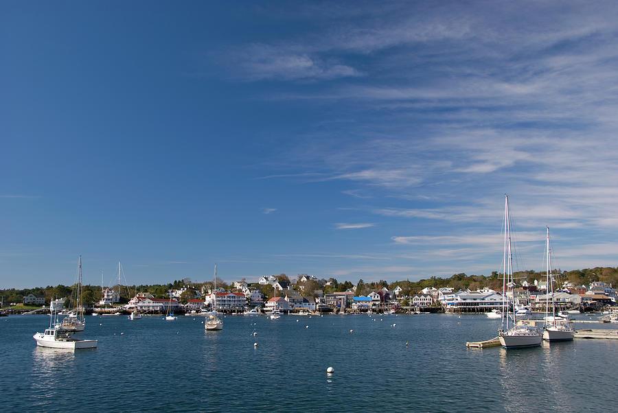 Boothbay Harbor Photograph by Frankvandenbergh