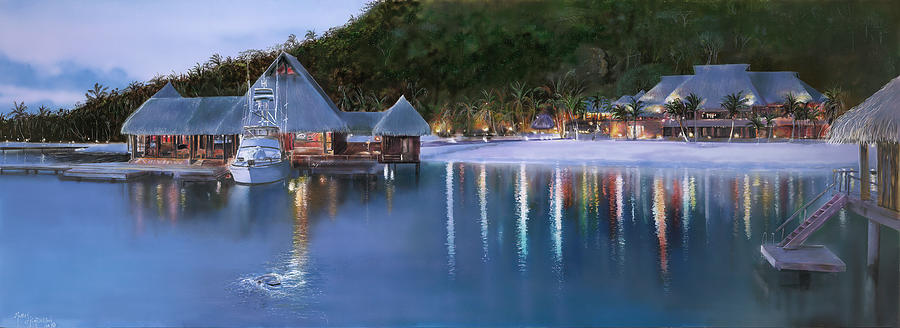 Beach Painting - Bora Bora by Murray Henderson Fine Art