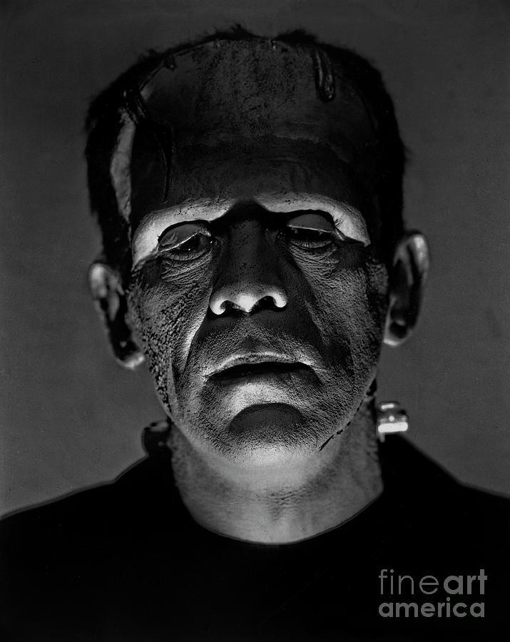 Boris Karloff as Frankenstein  by Doc Braham