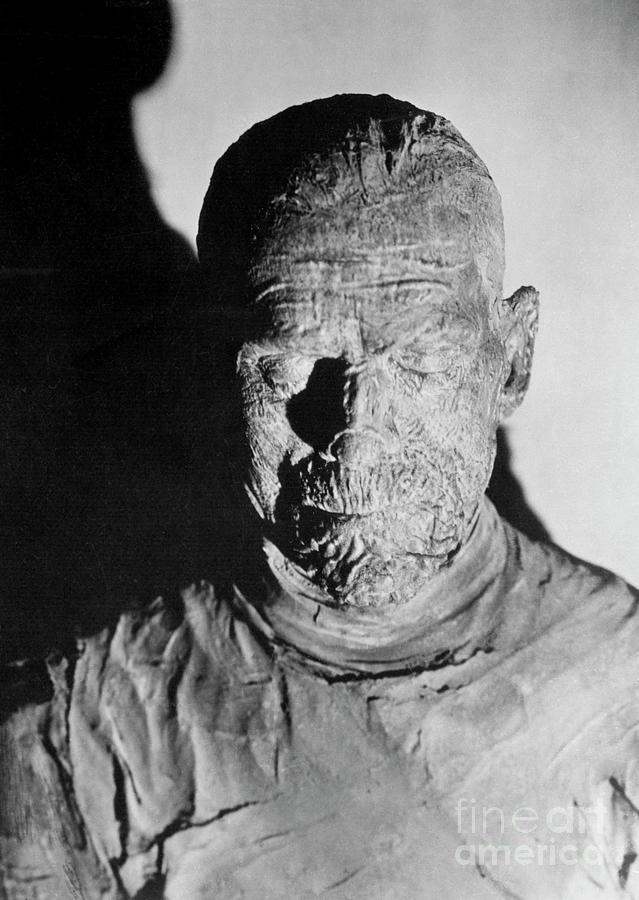 Boris Karloff As The Mummy Photograph by Bettmann