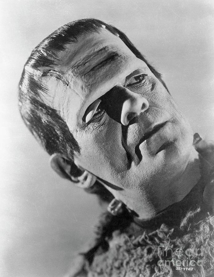 Boris Karloff In Son Of Frankenstein Photograph by Bettmann