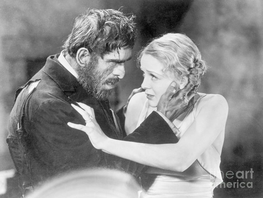 Boris Karloff Menacing Gloria Stuart Photograph by Bettmann