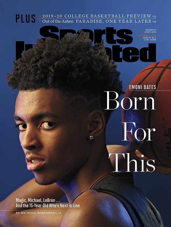 Born For This Emoni Bates Sports Illustrated Cover Photograph by Sports Illustrated