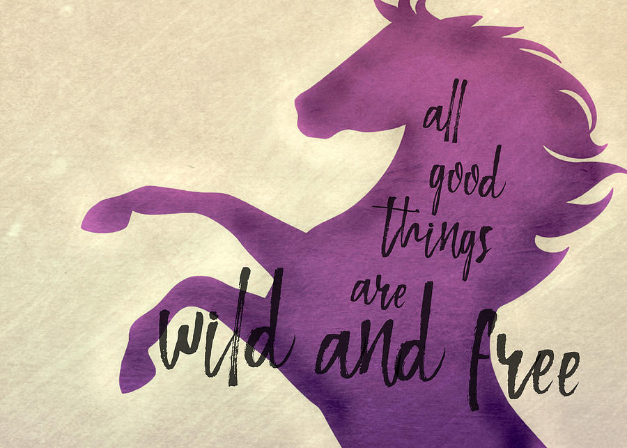 BORN FREE quote by Dressage Design