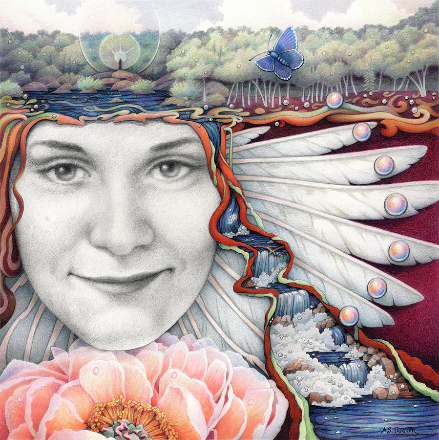 Borne On The Wings Of Her Dreams by Amy S Turner