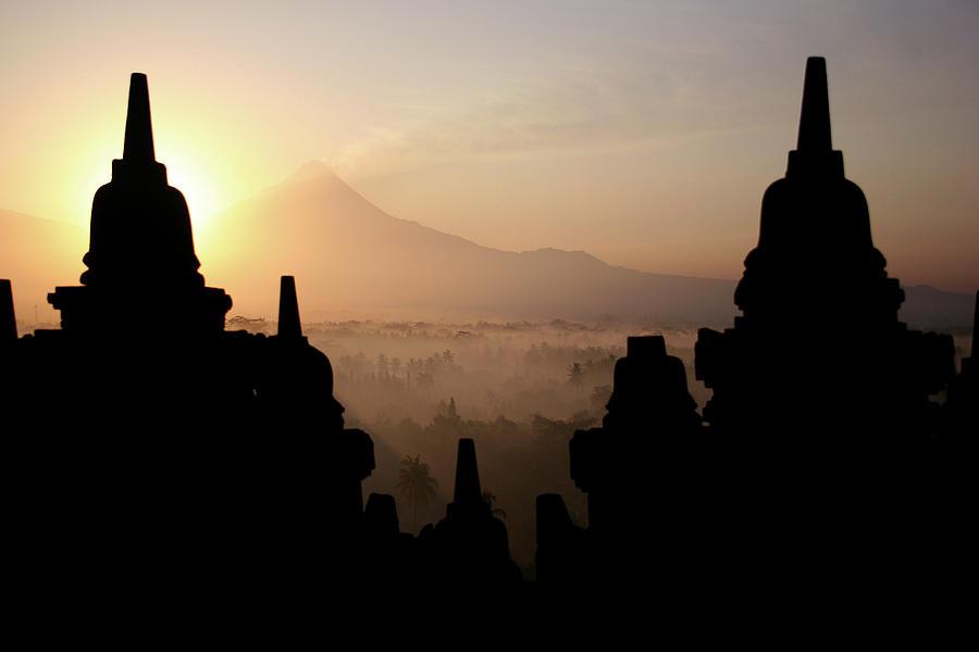 Borobodur At Sunrise Photograph by Photo ©tan Yilmaz