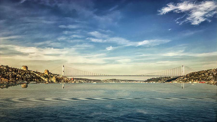 Bosphorus Bridge by Maria Coulson