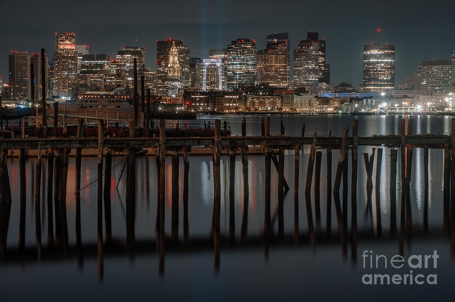 Boston And Old Dock Photograph