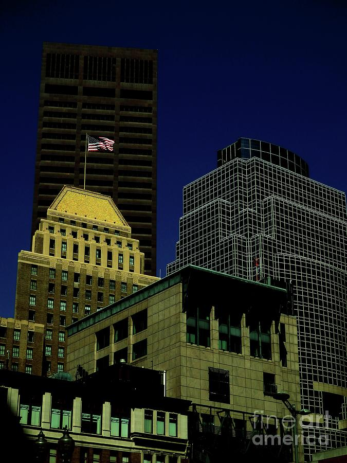 Boston Architecture #3 by Marcia Lee Jones