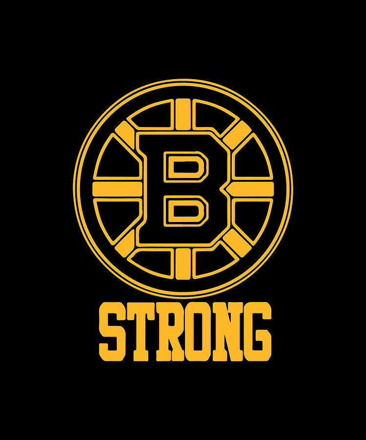 Boston B Strong Marathon Tribute Hockey Bruins Men/'s Tee Shirt