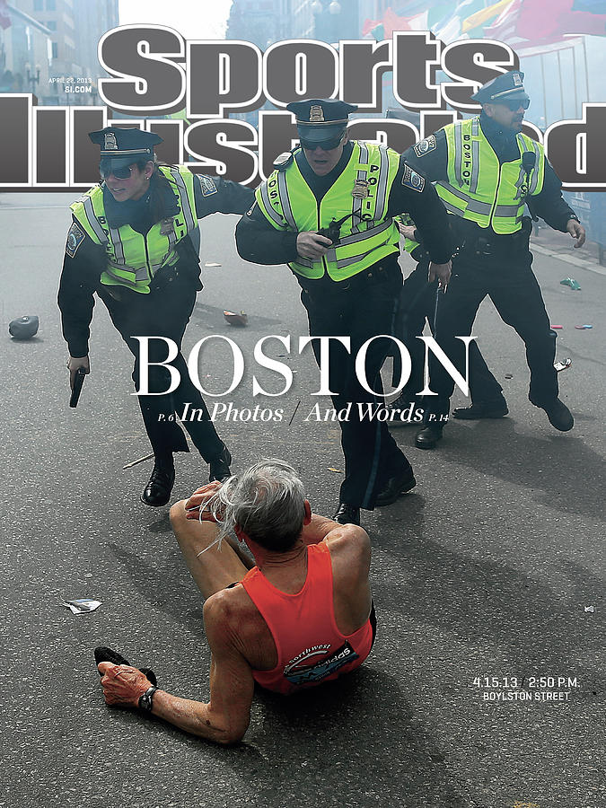 Boston Bombing Sports Illustrated Cover Photograph by Sports Illustrated