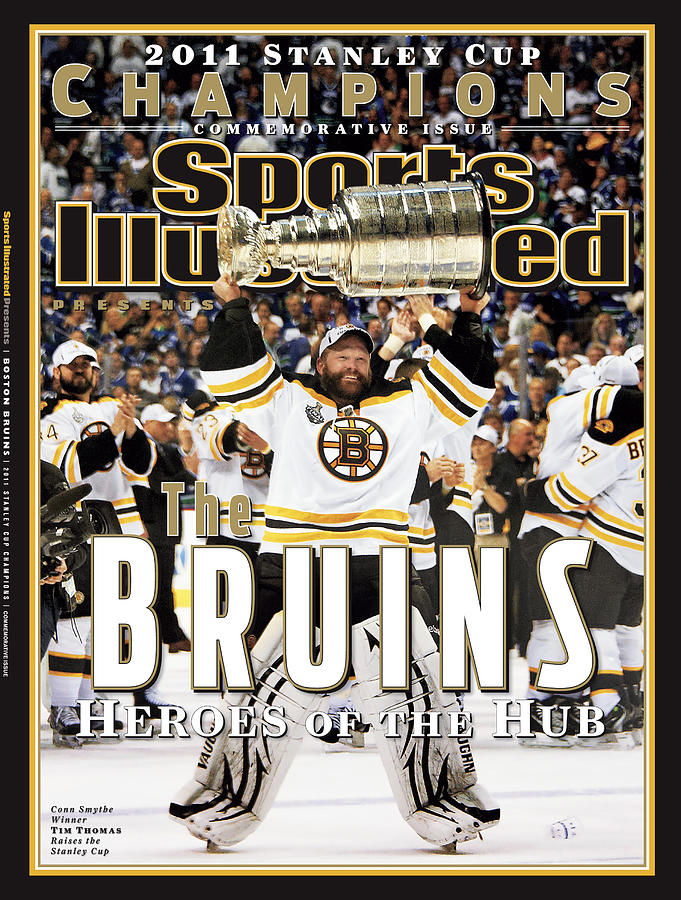 Boston Bruins, 2011 Nhl Stanley Cup Champions Sports Illustrated Cover Photograph by Sports Illustrated