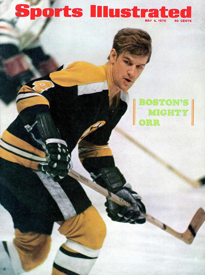 Boston Bruins Bobby Orr, 1970 Nhl Eastern Division Sports Illustrated Cover Photograph by Sports Illustrated